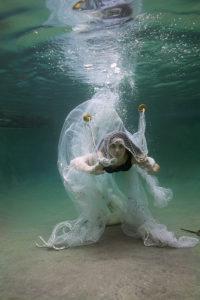 Underwater Portrait featured in the exhibition