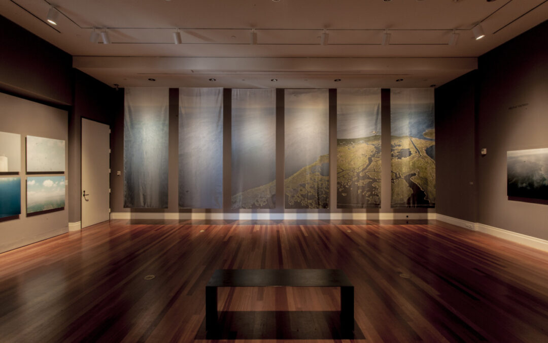 Installation image at the Ogden Museum